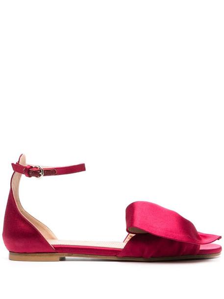 RED(V) RED(V) bow-embellished sandals