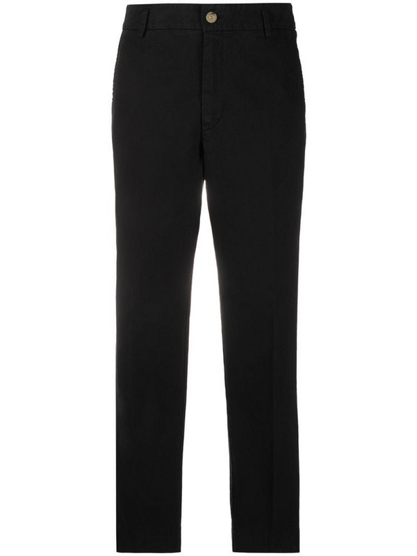 Forte Forte mid-rise cropped trousers in black