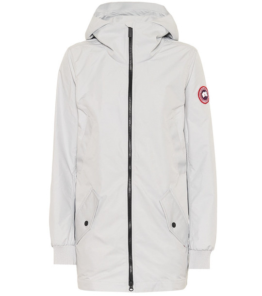 Canada Goose Ellscott jacket in silver