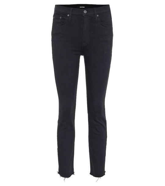 Grlfrnd Reed high-rise skinny jeans in black