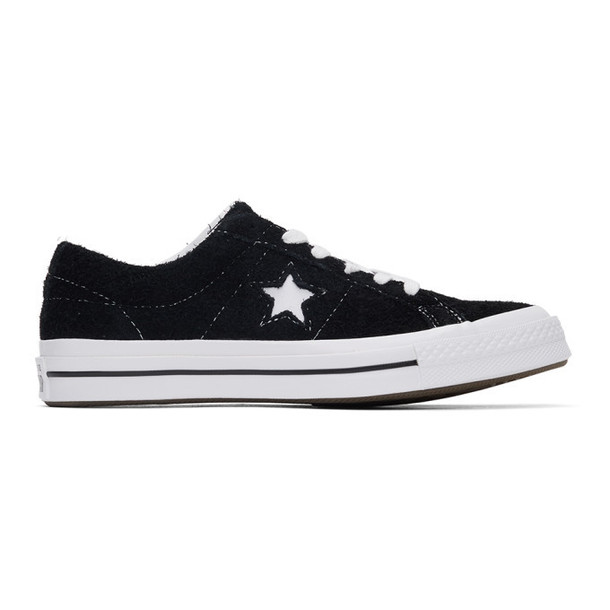 Converse Black Suede One Star Sneakers