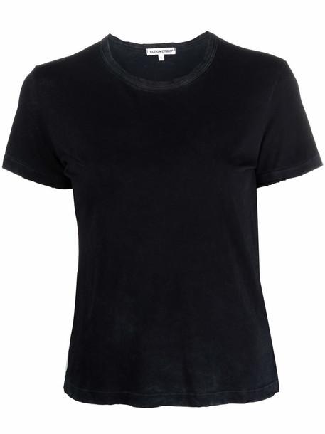 Cotton Citizen short-sleeve cotton T-shirt - Black