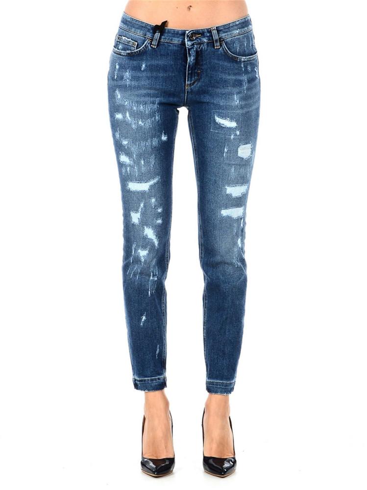 Dolce & Gabbana Skinny Jeans in blue