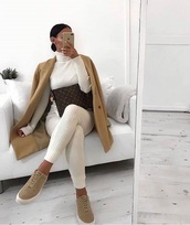 shoes,low top sneakers,tan,high top sneakers,fashion,fall outfits