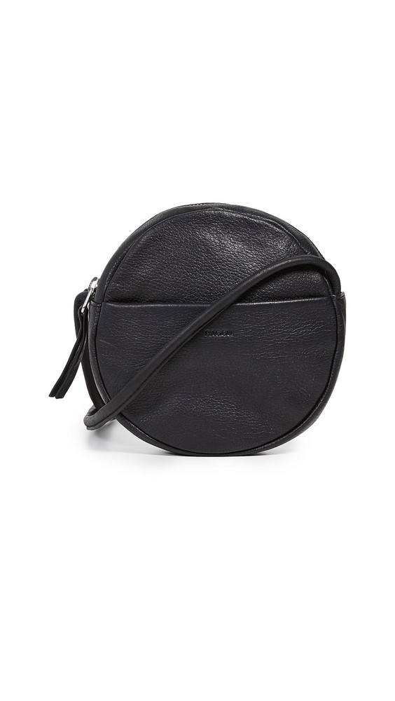 BAGGU Mini Circle Purse in black