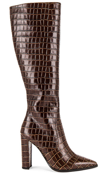 Tony Bianco Lucille Boot in Chocolate
