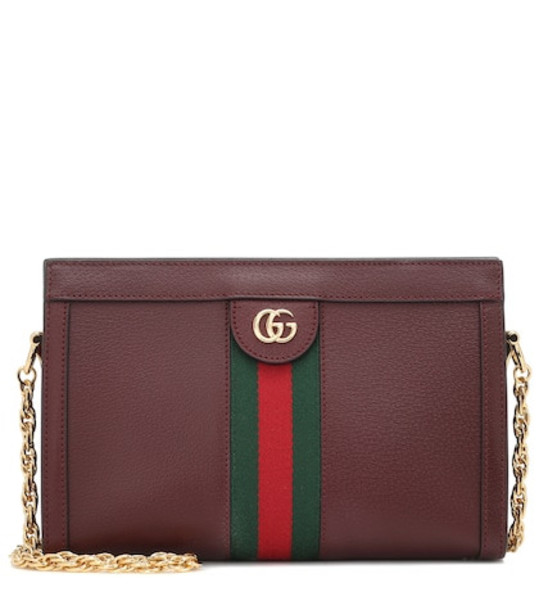 Gucci Ophidia Small shoulder bag in brown