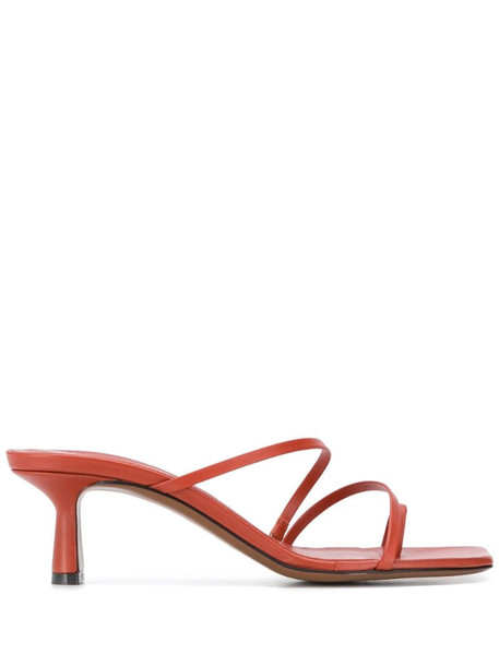 NEOUS Erandra strappy sandals in red