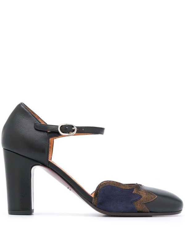 Chie Mihara Waban buckled pumps in black