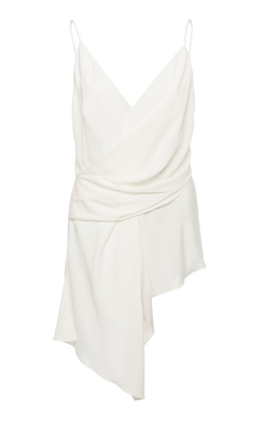 Acler Petersen Wrap Sleeveless Tank in white