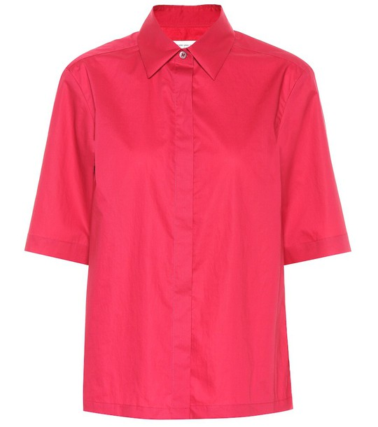 Dries Van Noten Cotton shirt in pink