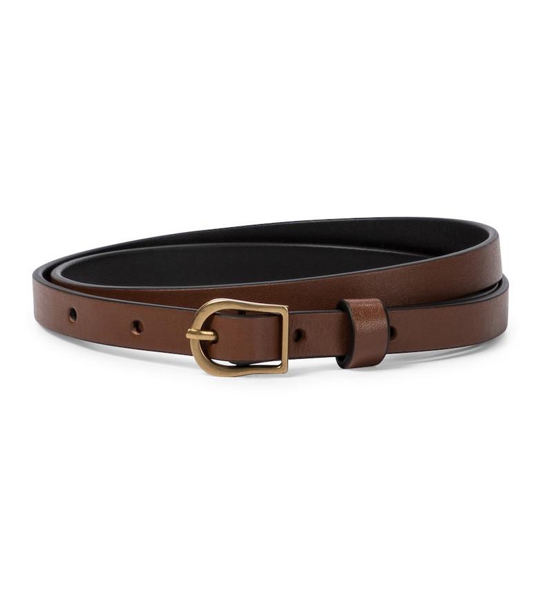 Zimmermann Leather belt in brown