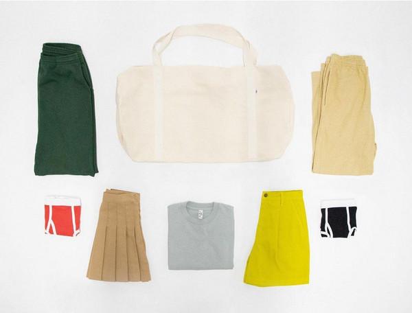 top skirt bag pants underwear
