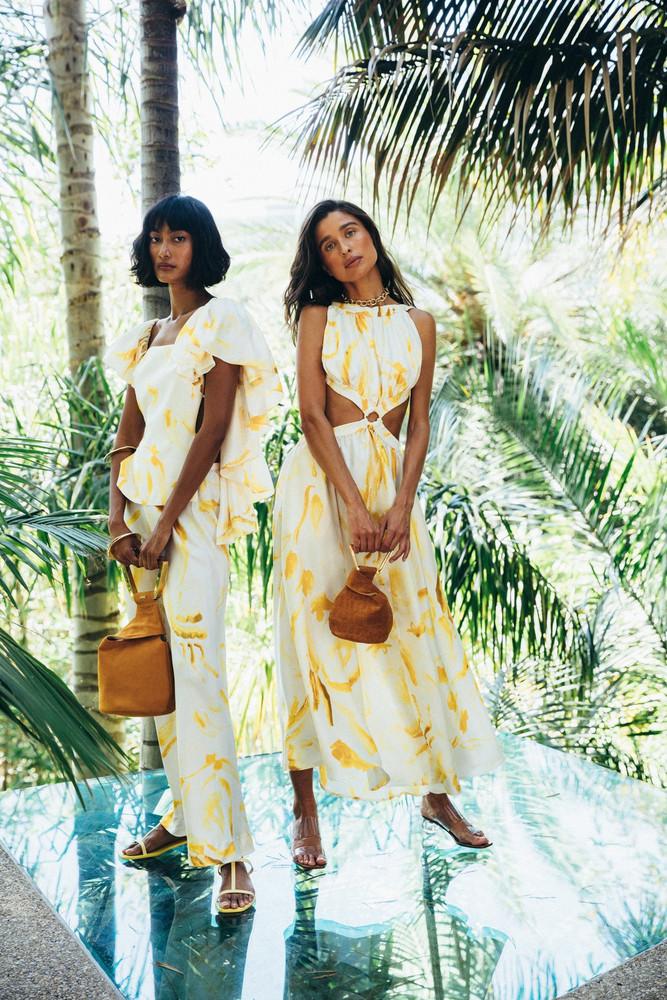 Cult Gaia Theia Dress - Yellow Multi (PREORDER)                                                                                               $698.00