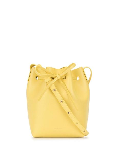 Mansur Gavriel mini bucket bag in yellow
