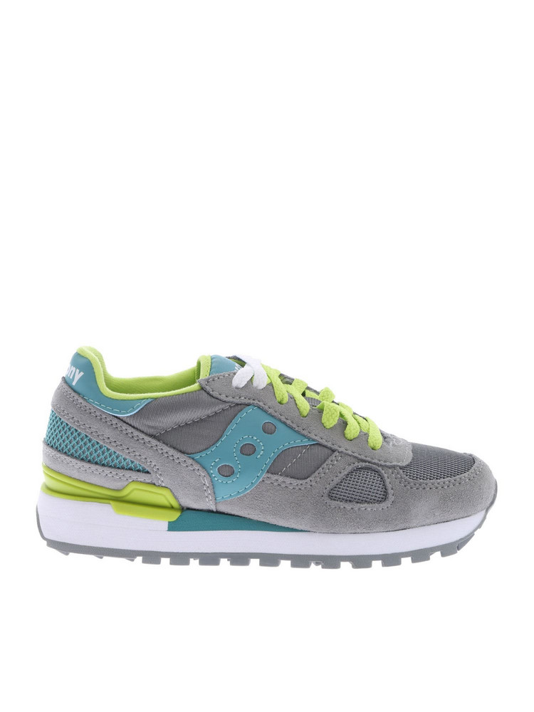 Saucony Shadow Original Sneakers in grey / green