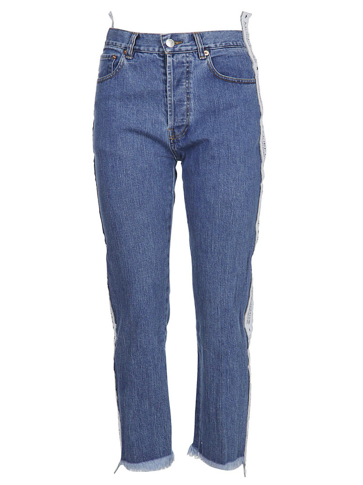 Forte Couture Forte Dei Marmi Couture Cropped Length Jeans in denim / denim