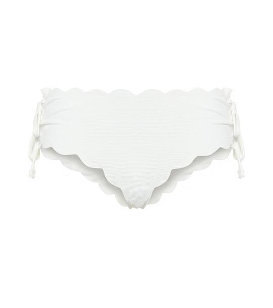 Marysia Spring Tie bikini bottoms in white