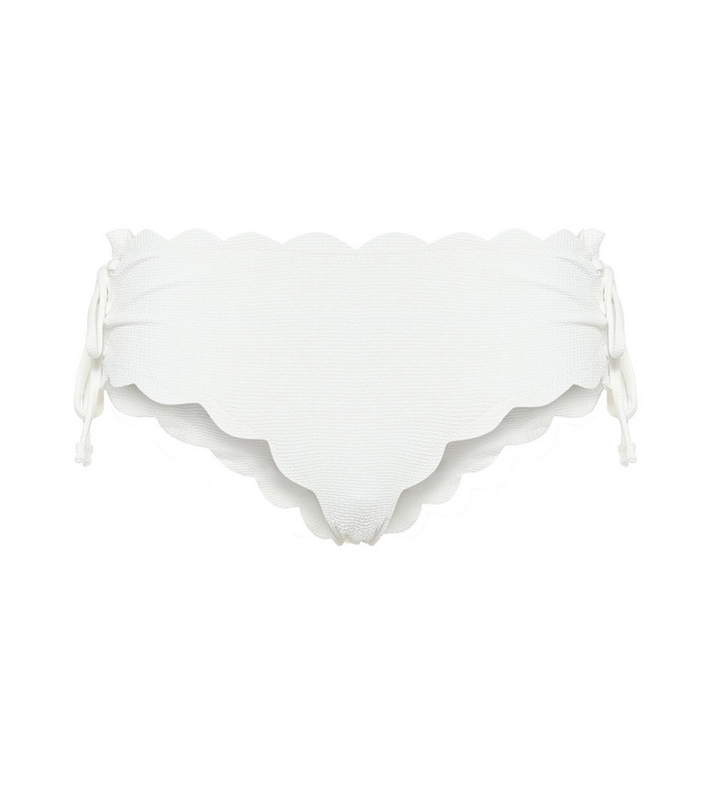 Marysia Spring Tie bikini bottoms in white