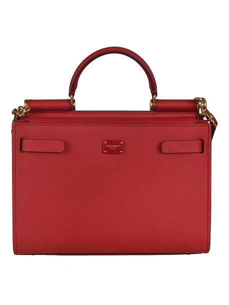 Dolce & Gabbana Sicily Small Shoulder Bag in red