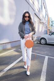 the fancy pants report,blogger,cardigan,gloves,sunglasses