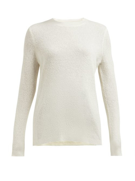 Gabriela Hearst - Harius Cashmere And Silk Blend Sweater - Womens - Ivory