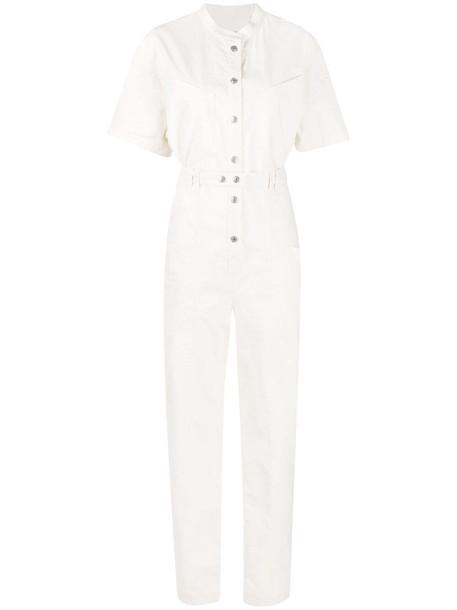 Isabel Marant Etundra multi-pocket jumpsuit - White