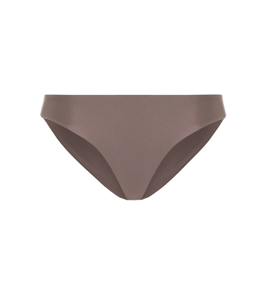 Jade Swim Lure bikini bottoms in brown