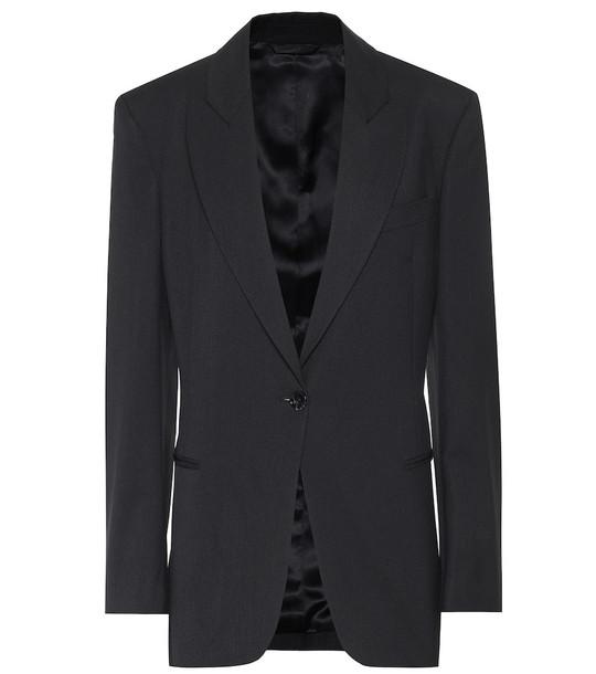 Acne Studios Single-breasted blazer in black