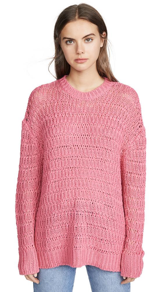 ANINE BING Juliet Sweater in pink