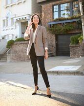coat,grey blazer,blazer,jeans,black jeans,skinny jeans,work outfits