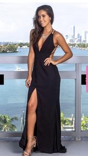 dress,prom dress,backless
