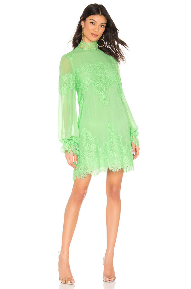 Hot As Hell Queen 4 A Day Dress in green