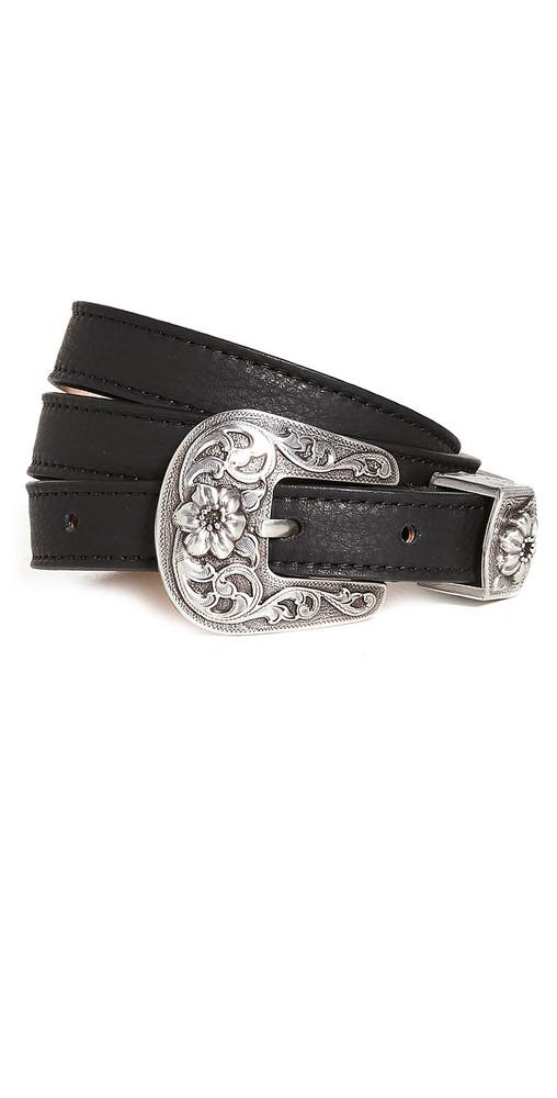 B-Low The Belt Ashlyn Belt in black / silver