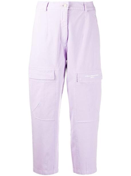 Stella McCartney 2001. straight-leg jeans in purple