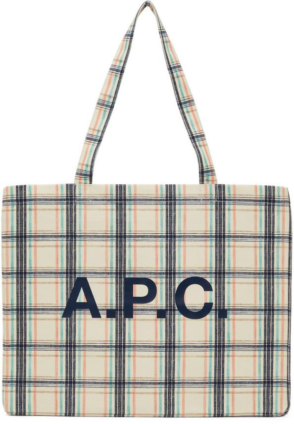 A.P.C. A.P.C. Multicolor Diane Tote in multi