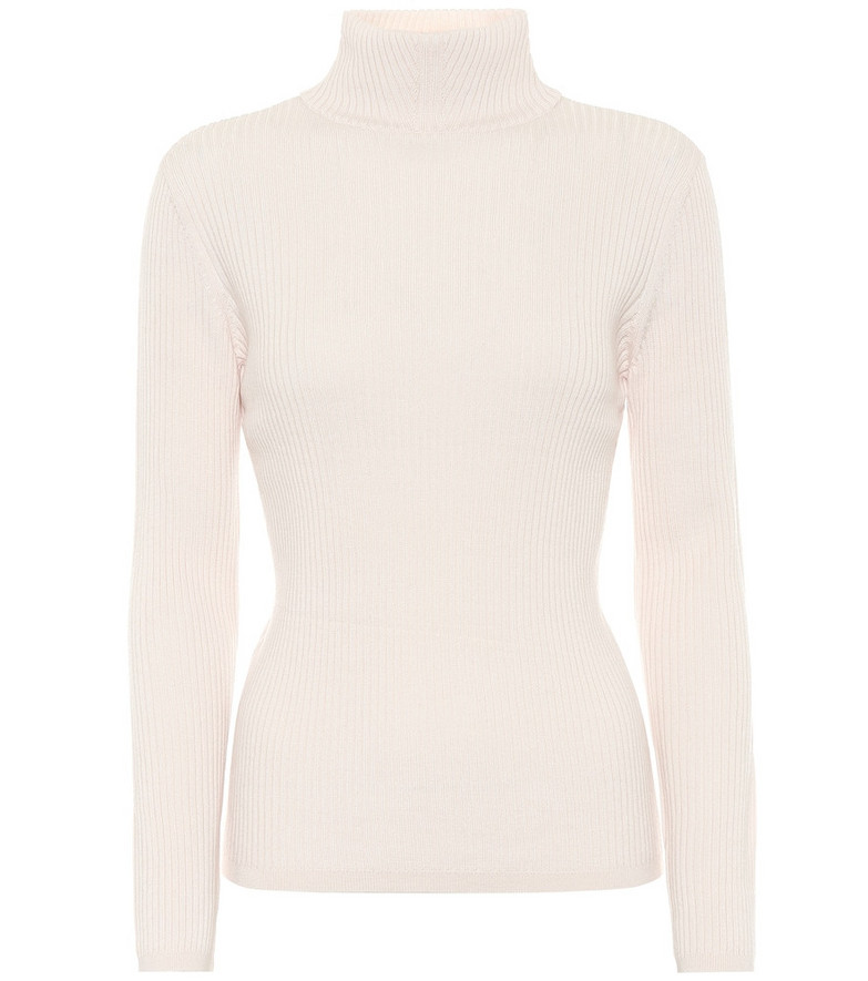 A.P.C. Carmen merino wool sweater in beige