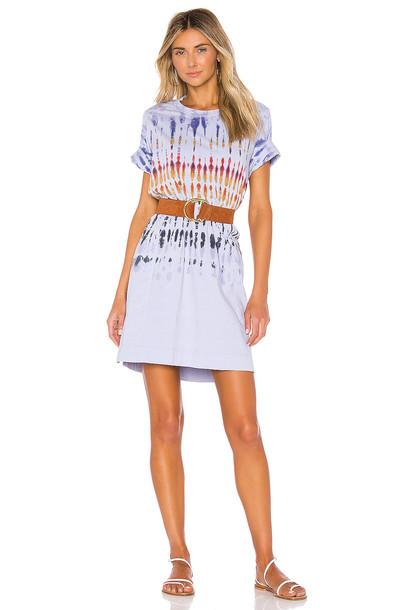 Raquel Allegra x REVOLVE T Shirt Dress in blue