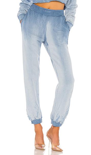 COTTON CITIZEN Brooklyn Sweatpant in Blue