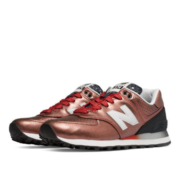 New Balance 574 Gradient Women's 574 Shoes - Brown/Black (WL574RAB)