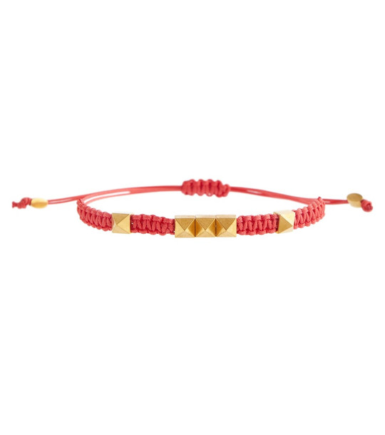 Valentino Rockstud bracelet in gold
