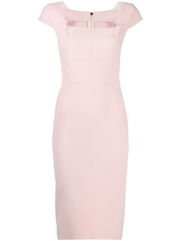 Roland Mouret Jedler dress in pink