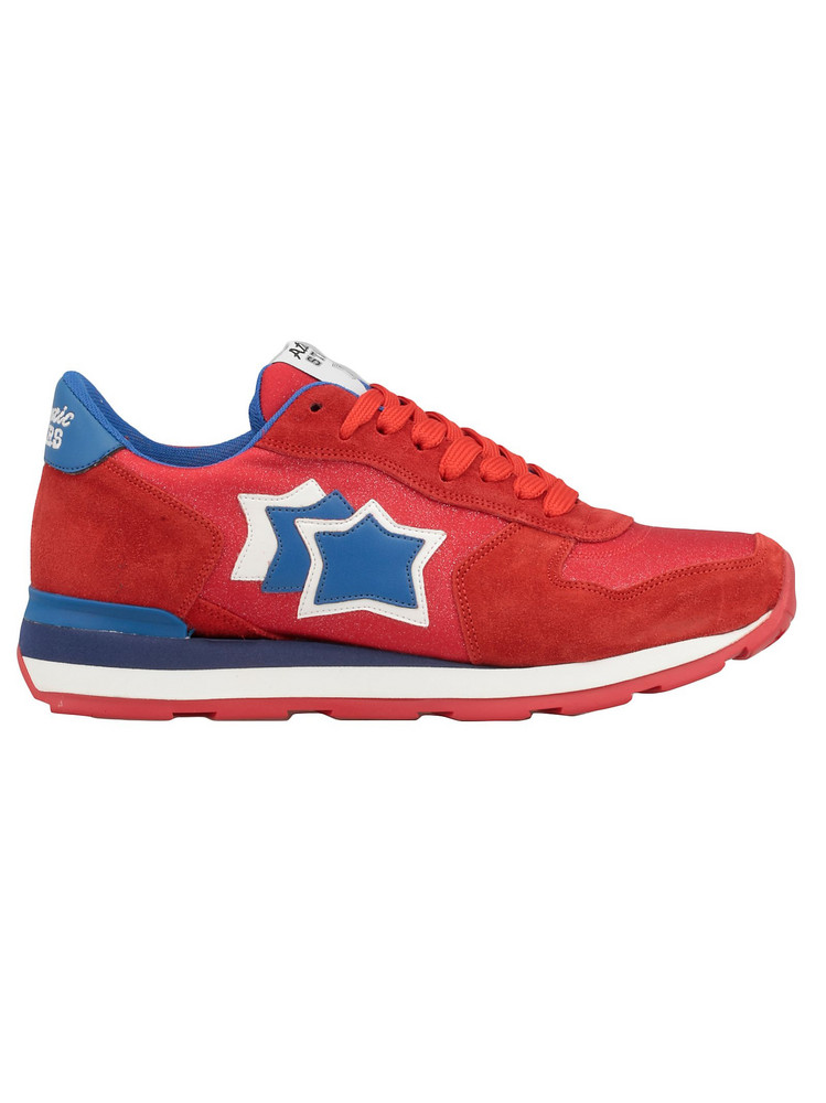 Atlantic Stars Vega Sneaker in red