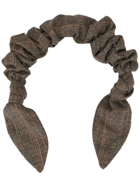 0711 twisted scarf handle in brown