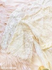 pajamas,lingerie,lingerie set,white lingerie,bridal lingerie,robe,robes,bralette,boho chic,boho dress,boho,fashion,underwear,white,love,lovely,cute,cute dress,gift ideas,valentines day gift idea,wedding,wedding accessories