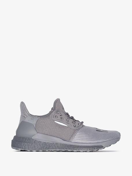 adidas by Pharrell Williams Grey Solar Hu Proud low top sneakers