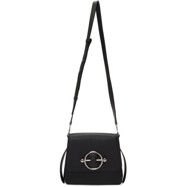 JW Anderson Black Disc Crossbody Bag