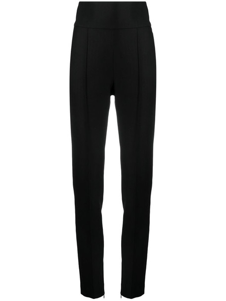 Alexandre Vauthier high-waisted cropped trousers in black