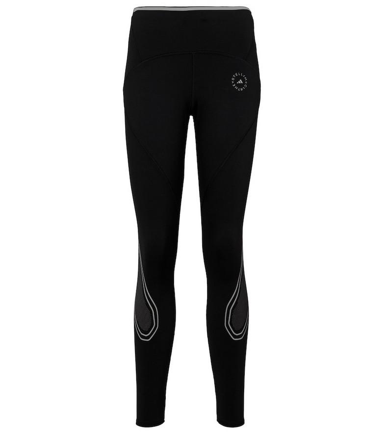 adidas by STELLA McCARTNEY TruePace mid-rise leggings in black