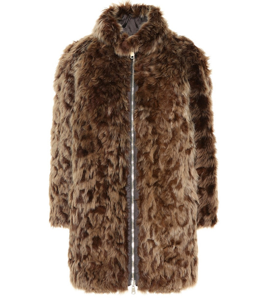 Brunello Cucinelli Reversible fur coat in brown